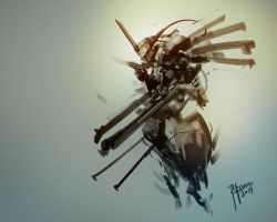mech sketch design by benedickbana