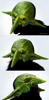 Goblin mask by DenisPolyakov