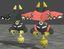 XPS Pokemon Sun and Moon Tapu Bulu