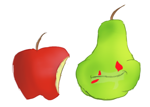Eat more apples by ShinyUumbreon