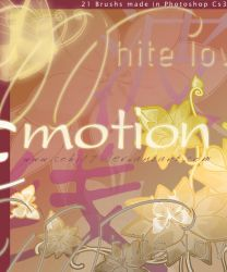 Japanese Emotion Brushes by Coby17