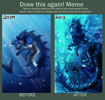 Draw this again Meme by Kexell