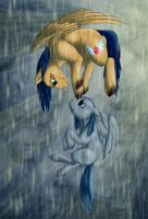 Love in the Rain by ManesLion