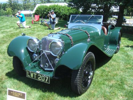 Jaguar SS100 by Aya-Wavedancer