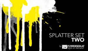 splatter set two by austrianmonst3r