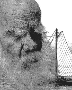 Old Man of the Sea by mkdieb