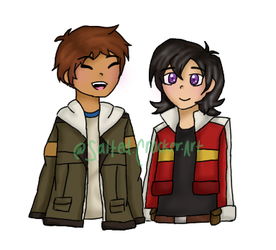 Space Gays by salted-cracker-art