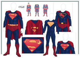 Superman Reboot Concepts by Bunk2