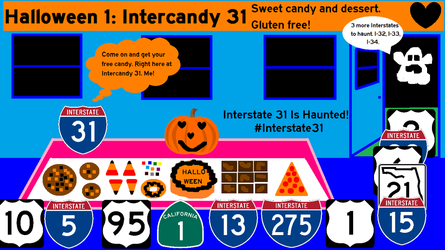 Hallointerstate: Interstate 31: Intercandy 31 by Interstate48