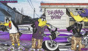 047 - Daffy Duck Gang Bangers by TheR3MAK3R