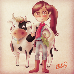 harvest moon: a new beginning by Lizeeeee