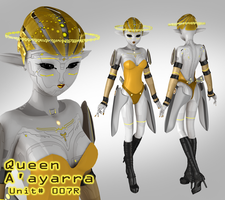 Queen A'ayarra - In Development by laughingvulcan