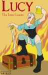 Lucy the loose Cannon by blue-elem3nt