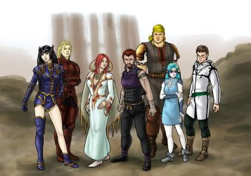 The Original Dragoons by swiftgold