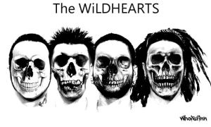 The Wildhearts Skull Copy by Evlisking