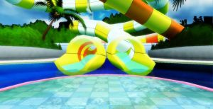 Waterslide stage by chocosunday