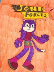 Lala the cat in Sonic Forces by Sonic-fan17