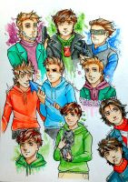 Eddsworld Doodles by Seirenen