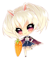 Bunny : mini chibi by plurain