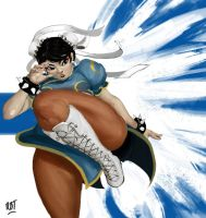 SF - Chun Li by redblacktac