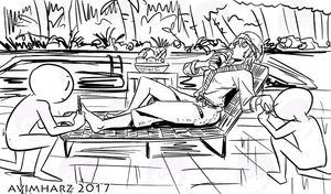 Quick Sketch: Spa by avimHarZ