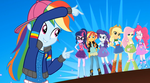 MLP EQG  Get the Show on the Road Moments 5 by Wakko2010