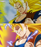 Goku Ssj3 - Remake by RenanFNA