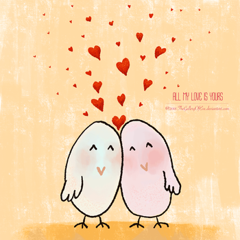 All My Love Is Yours by TheGalleryOfEve