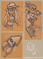 Squids Kids Squids Kids Squids by YouAreReadingThis