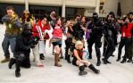 Momo Con 2013 Resident Evil Group by BlueEyesMaster