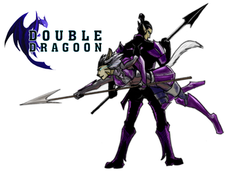 Double Dragoon - commission by tamtu