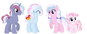 [CLOSED] TrixiePie Family by Iesbeans