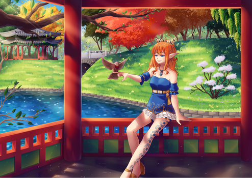CM | Korean Garden by Pattikou
