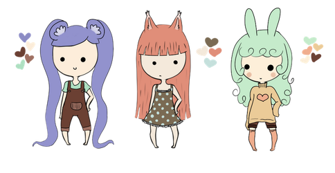 Adoptables Open :ONE LEFT: by Saria48