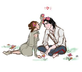 Ben Solo in Love by Emmanation
