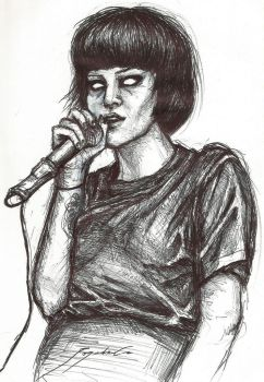 Alice Glass by CyanBerryy