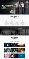 Samsara CreAtive Template by sandracz