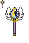 Star's Wand - Star Vs The Forces of Evil - Pixel by Retr8bit