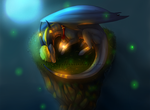 SPEEDPAINT:.:Watch the Fireflys:. [Redraw 2013] by RehQwQ