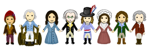 Tiny Revolutionaries by elvenmongoose