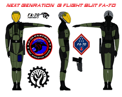 Next Genration  G flight suit FA-70   Olive Drab by bagera3005