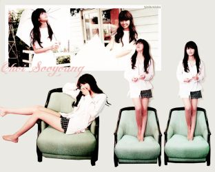 SNSD Sooyoung wallpaper. by NiiaChaan