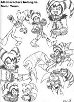 NiGHTS and Reala Sketches 2 by VOL-K