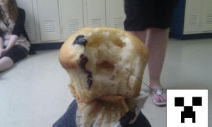 Even muffins want me dead by peopleface