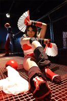 Mai and Iori - KOF by absolutequeen