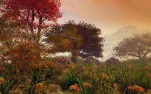 Autumn Peace - Daytime by angelic-jean