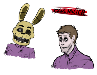 Dave Miller by CreepyCheeseCookie