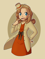 Lady Layton by Quarbie