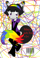 Maya the Fox -colored- by RiChRaGs