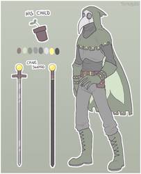 Plague Doctor ADOPT AUCTION! ((CLOSED)) by tomoburd
